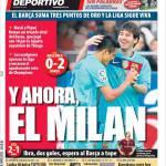 Mundo Deportivo: Y ahora el Milan!