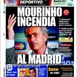 Mundo Deportivo: Mourinho incendia Madrid