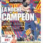 Mundo Deportivo: La notte del Campione