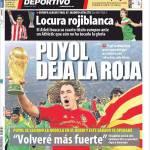 Mundo Deportivo: Puyol lascia la Roja