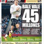 Mundo Deportivo: Bale vale 45 milioni di euro