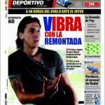 "Mundo Deportivo: ""VIBRAnte rimonta"""