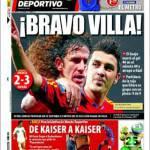 Mundo Deportivo: Bravo Villa!