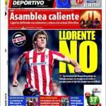 El Mundo Deportivo: Llorente no!