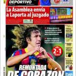 Mundo Deportivo: Rimonta di cuore