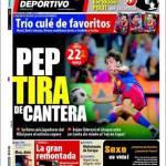 El Mundo Deportivo: Trio di favoriti