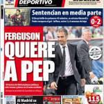 El Mundo Deportivo: Ferguson pensa a Pep