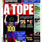Mundo Deportivo: Leo a un gol dai 100