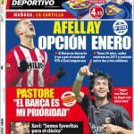 """El Mundo Deportivo: Pastore """"Giocare nel Barcellona è la mia priorità"""""""