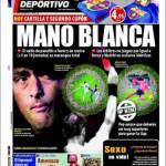 El Mundo Deportivo: Mano bianca