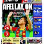 Mundo Deportivo: Afellay, ok!