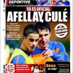 Mundo Deportivo: Afellay ufficiale