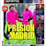 Mundo Deportivo: Pressione al Real Madrid