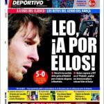 Mundo Deportivo: Leo, tocca a loro!