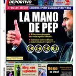 Mundo Deportivo: La mano di Pep