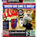 """Mundo Deportivo: Fabregas """"Spero vinca il Barcellona!"""