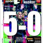 Mundo Deportivo: 5-0!