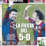 Mundo Deportivo: La festa del 5