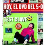 Mundo Deportivo: Test chiave