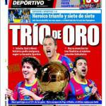Mundo Deportivo: Trio d'oro
