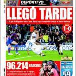 Mundo Deportivo: Sveglia tardi
