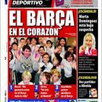 Mundo Deportivo: Il Barcellona è nel cuore