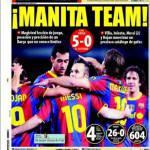 Mundo Deportivo: Manita team