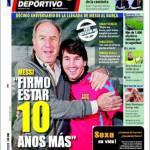 """Mundo Deportivo: Messi """"Resto per altri dieci anni"""""""