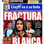 "Mundo Deportivo: Frattura ""blanca"""