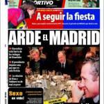 Mundo Deportivo: Fuoco a Madrid