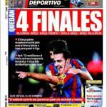 Mundo Deportivo: Quattro finali