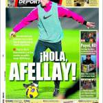 Mundo Deportivo: Benvenuto Afellay