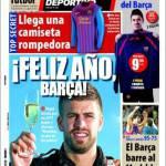 Mundo Deportivo: Felice Anno Barcellona