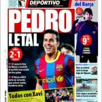 Mundo Deportivo: Pedro letale
