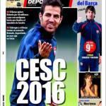 Mundo Deportivo: Cesc 2016