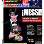 Mundo Deportivo: Messi!