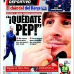 Mundo Deportivo: Blindate Pep!