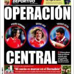 Mundo Deportivo: Operazione centrale