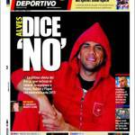 Mundo Deportivo: Alves dice no!