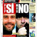 Mundo Deportivo: Pep si, Mou no
