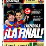 Mundo Deportivo: Lanciati in finale