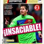 Mundo Deportivo: Insaziabile