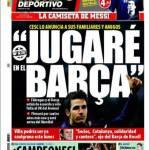 """Mundo Deportivo: Fabregas """"Giocherò nel Barcellona"""""""