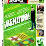 Mundo Deportivo: Rinnovo!
