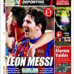 Mundo Deportivo: Leone Messi