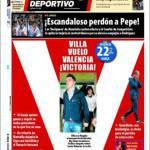 Mundo Deportivo: Scandaloso perdono a Pepe
