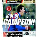 Mundo Deportivo: Gol del campione