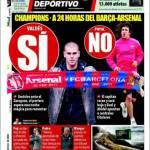 Mundo Deportivo: Valdes si, Puyol no