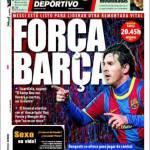 Mundo Deportivo: Forza Barcellona
