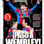 Mundo Deportivo: Passo verso Wembley